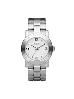 Marc by Marc Jacobs MBM3054 Amy Silver Ladies Bracelet Watch