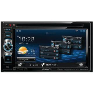 "KENWOOD DNN770HD 6.1"" WVGA DOUBLE DIN IN DASH DVD RECEIVER WITH NAVIGATION & WI FI [DNN770HD]    Vehicle Dvd Players"
