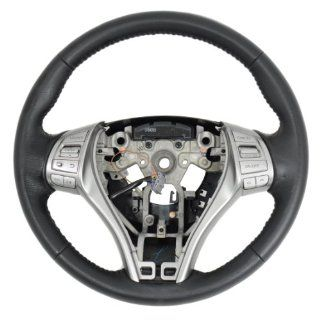 CHARCOAL BLACK LEATHER STEERING WHEEL 48430 3TA2A FITS 2013 NISSAN ALTIMA Automotive