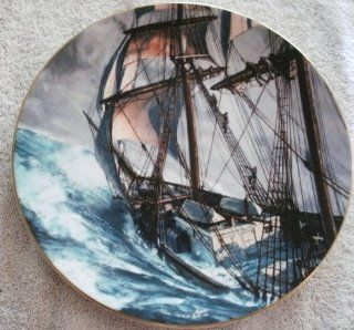 ROYAL DOULTON LIMITED EDITION COLLECTORS INTERNATIONAL ORIGINAL ART BY [ JOHN STOBART ] 3rd OF A SERIES FROM 1978 FINE CHINA PLATE TITLED [ ROUNDING THE HORN ] # 3, 754 OF 15, 000  Other Products