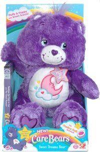 "Care Bears 12"" Floppy Plush Sweet Dreams Bear Toys & Games"