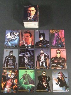 1995 Fleer Ultra Batman Forever Movie Trading Card Set (120) NM/MT Entertainment Collectibles