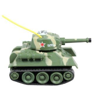 amtonseeshop New Mini I/r Rc Remote Control Tank for Kids Toy Gifts 777 215 Camouflage Toys & Games