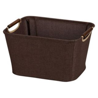 Household Essentials Small Bin Brown