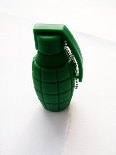 Cool Green Military War Handgrenade Bomb keychain 4GB USB Flash Drive   in Gift box   with GadgetMe Brands TM Stylus Pen Computers & Accessories