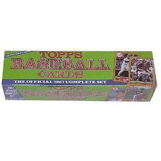 1987 Topps Baseball Factory Sealed Complete Mint 792 Card Set Which Includesat 's Sports Collectibles Store