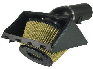 aFe 75 12111 Magnum FORCE Gold Stage 1 Cold Air Intake System with Pro GUARD 7 Air Filter for Ford F 150 EcoBoost V6 3.5L Automotive