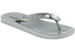 Capelli New York Glitter Girls Flip Flop With Round Gem Shoes