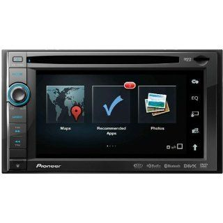 "Pioneer Indash 2 Din DVD 6.1"" LCD Navigation GPS w/Bluetooth, DVD/CD Receiver with AM/FM Tuner, Navigation US, Canada, and Puerto Rico, PANDORA Internet Radio Connectivity for iPhone and Android  Vehicle Receivers"