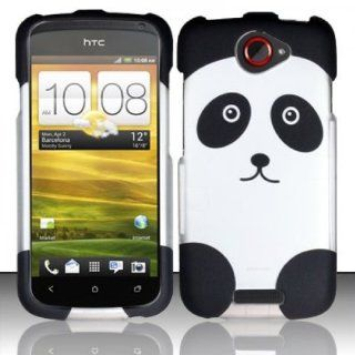 HTC One S / Ville Case Lavishing Panda Design Hard Cover Protector (T Mobile) with Free Car Charger + Gift Box By Tech Accessories Cell Phones & Accessories