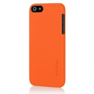INCIPIO Feather Ultra thin Case Rubberized Soft Touch IPH 812 for Apple iPhone 5 (Orange) Cell Phones & Accessories