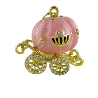 Cute Pumpkin Car USB Flash Drive Data Traveler with Keychain 8GB 16GB 32GB (16GB) Computers & Accessories