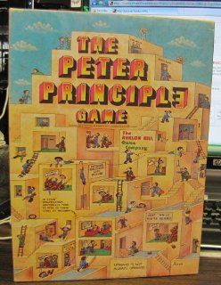 THE PETER PRINCIPLE GAME   AVALON HILL LEISURE TIME GAME DR. LAWRENCE PETER Toys & Games