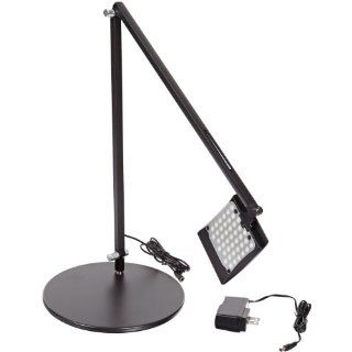 Koncept AR2000 C MBK DSK Mosso LED Desk Lamp, Cool Light, Metallic Black