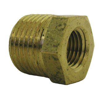 Watts LFA828 Hex Bushing 1/2 Inch Male x 3/8 Inch Female Pipe   Pipe Fittings