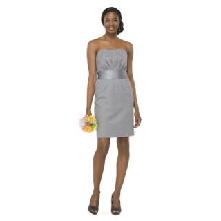 TEVOLIO Womens Lace Strapless Dress   Cement   2