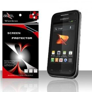 Anti Glare Clear Screen Protector for Samsung Galaxy Rush SPH M830 Cell Phones & Accessories