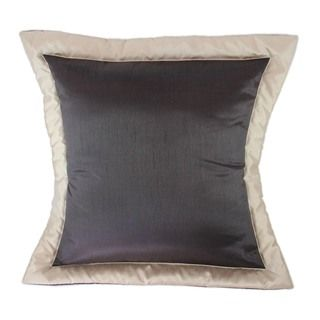 Sherry Kline Sherry Kline True Safari Zebra Brown Euro Sham (set Of 2) Brown Size Euro Square