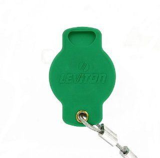 Leviton 16P22 G 16 Series Female, Protective Cap, Commercial Grade, Cam Type Connector, Green   Electrical Cam Type Connectors