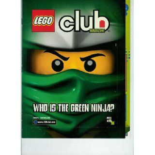Lego Club Magazine, January   February 2012 Featuring Who Is the Green Ninja Peel It Surprise, Lego Dc Universe Super Heroes Comic W/list of Heroes & Villans As Well; and Also Lego Harry Potter, Star Wars Comic & New Figures & Dino Strike Quize