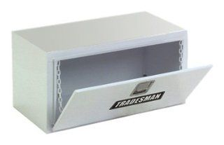 Lund/Tradesman 86224 24 Inch 12 Gauge Steel Underbody Truck Tool Box, White Automotive