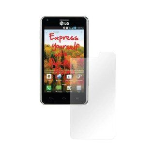 LG Ls860 Cayenne Lcd Screen Protector Cover Kit Film Guard   Clear Cell Phones & Accessories