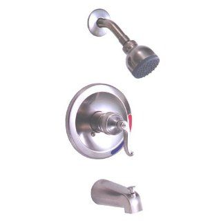 Peerless 875 405 Brushed Nickel Single Handle Tub/Shower Faucet   Single Handle Tub And Shower Faucets