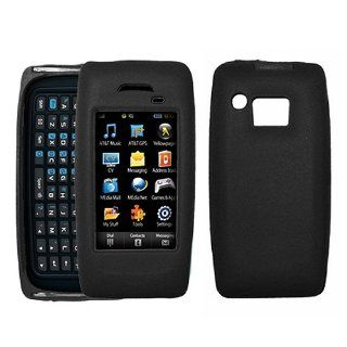 Black Soft Silicone Gel Skin Case Cover for Samsung Impression SGH A877 Cell Phones & Accessories