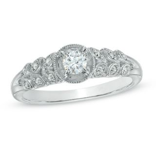 Cherished Promise Collection™ 1/5 CT. T.W. Diamond Vintage Style