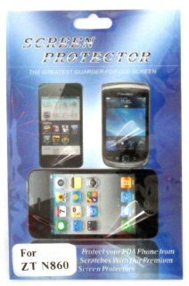 ZTE N860 Warp Clear LCD SCREEN Protector Wireless Phone Accessory Cell Phones & Accessories