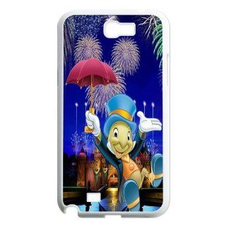 Jiminy Cricket Custom Samsung Galaxy Note 2 N7100 Case Cell Phones & Accessories