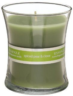 Essenza Hour Glass Candle Spiced Pear & Clove, 10 Ounce Candles Health & Personal Care