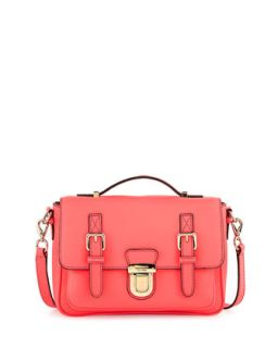 lola avenue lia crossbody satchel, surprise coral   kate spade new york
