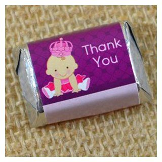 Princess Baby Shower Mini Candy Bar Wrappers Health & Personal Care
