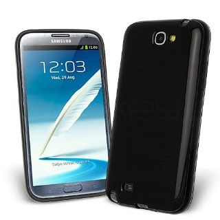 Celicious Black Opaque TPU Gel Case for Samsung Galaxy Note 2 N7100  Samsung Galaxy Note 2 Case Cover Cell Phones & Accessories