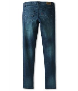 Levis Kids Girls 535 Denim Legging Big Kids Blue Lagoon