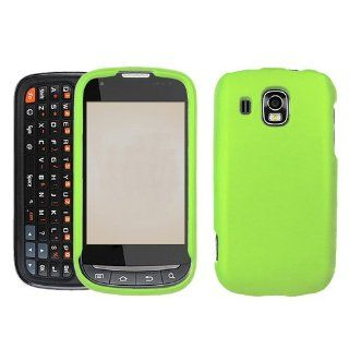 iFase Brand Samsung Transform Ultra M930 Cell Phone Rubber Neon Green Protective Case Faceplate Cover Cell Phones & Accessories