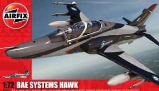 Airfix A03073 172 Scale BAe Hawk 128/ 132 Military Aircraft Classic Kit Series 3 Toys & Games