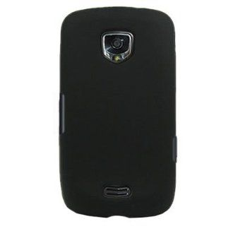 Silicone Skin BLACK Sleeve Rubber Soft Cover Case for SAMSUNG 4G LTE / i510 [WCE932] Cell Phones & Accessories