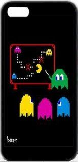 Pacman Studies Illustrations iPhone 4 Designer Case Cover Protector Cell Phones & Accessories