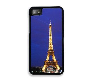 Eiffel Tower At Night Blackberry Z10 Case   For Blackberry Z10 Cell Phones & Accessories