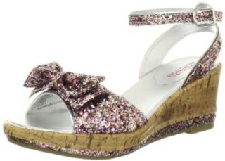 Kenneth Cole Reaction Cork Lift Wedge (Little Kid/Big Kid), Multi, 6 M US Big Kid Sandals Shoes
