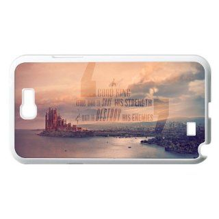 Vcapk Ocean City Game of Thrones Quote Vintage Custome Hard Plastic Phone Case for Samsung Galaxy Note 2 II N7100 Cell Phones & Accessories