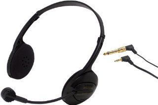 Williams Sound MIC 079 Dual Muff Headset Mic for IC 1, T17, Cardioid, Condenser, 3.5 mm Plugs Electronics