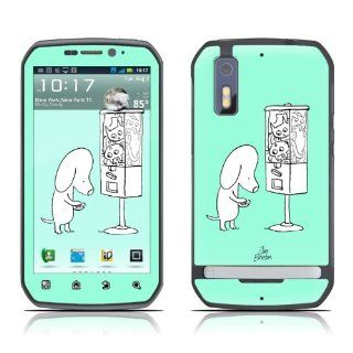 Vending Design Decorative Skin Cover Decal Sticker for Motorola Photon Cell Phone Cell Phones & Accessories
