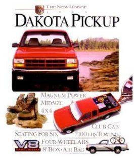 1995 Dodge Dakota Sales Brochure Literature Book Features Options Colors Specs Automotive