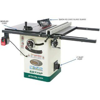 Grizzly G0715P Polar Bear Series Hybrid Table Saw with Riving Knife, 10 Inch   Power Table Saws