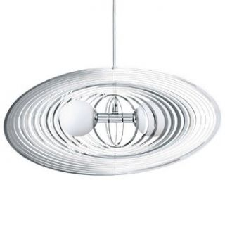Eglo Lighting 92292A Omano   Two Light Pendant, Chrome Finish with Opal Glass   Ceiling Pendant Fixtures