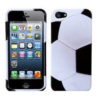 Apple iPhone 5 Hard Plastic Snap on Cover Soccer Ball Sports Collection AT&T, Cricket, Sprint, Verizon Plus A Free LCD Screen Protector (does NOT fit Apple iPhone or iPhone 3G/3GS or iPhone 4/4S) Cell Phones & Accessories