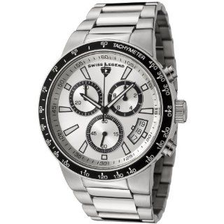 Swiss Legend Men's 10057 22S BB Endurance Collection Chronograph Stainless Steel Watch Watches